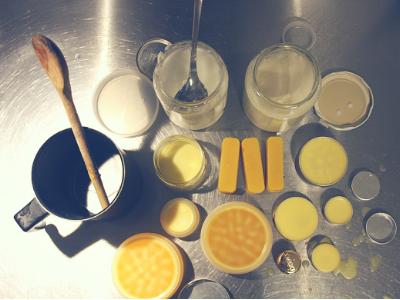 Creme-Herstellen-intensive-Pflege-Diy-Wachs-Kokosöl-Sheabutter-Lippenpflege